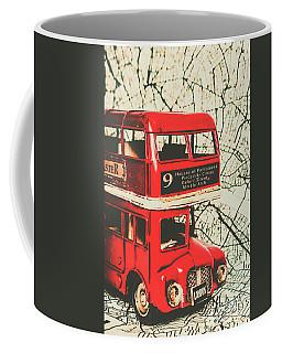 Bus Line Art Coffee Mug