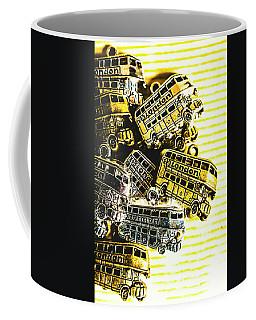 Bus Lines Coffee Mug