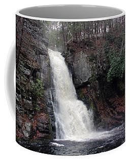 Coffee Mug featuring the photograph Bushkill Falls by Linda Sannuti