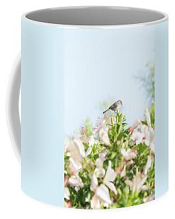 Bushtit Atop The Hibiscus Coffee Mug