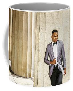 Black Businessman Coffee Mug