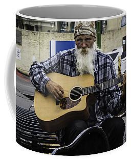 Busking In New Orleans, Louisiana Coffee Mug