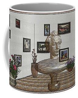 Bust Of The Spirit Of Einstein 1 Coffee Mug
