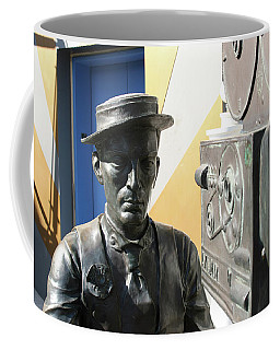 Buster Keaton On Camera Coffee Mug