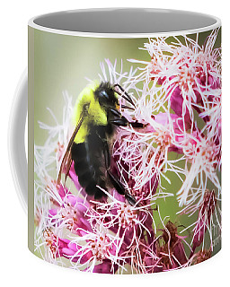 Coffee Mug featuring the photograph Busy As A Bumblebee by Ricky L Jones