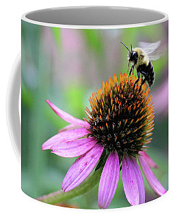 Coffee Mug featuring the photograph Busy Bee by Trina Ansel