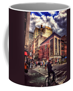 Busy Day In The City Coffee Mug