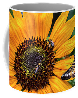 Busy Sunflower Coffee Mug