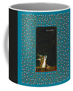 Coffee Mug featuring the digital art But It Was Dark by Donna Huntriss