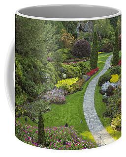 Butchart Gardens Coffee Mug by Eunice Gibb