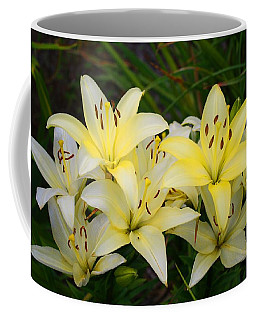 Coffee Mug featuring the photograph Buttercreams by Kathryn Meyer