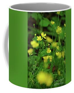 Buttercup Grouping- Vertical- Butler Creek Trail Coffee Mug