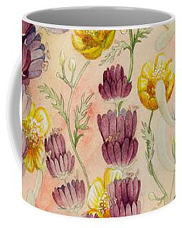Buttercups And Lavendar Coffee Mug