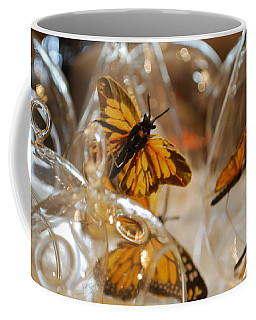 Butterflies And Glass II Coffee Mug