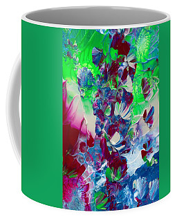 Butterflies, Fairies And Flowers Coffee Mug