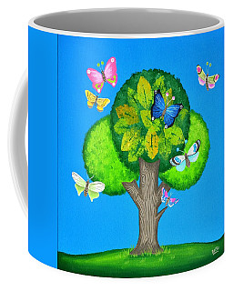 Butterflies Refuge Coffee Mug