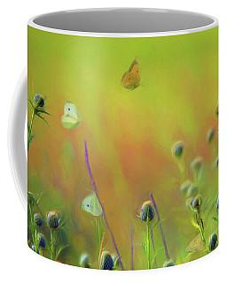 Butterflies - Wildflowers Coffee Mug