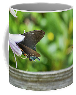 Butterfly And Bee Coffee Mug