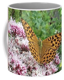 Butterfly Argynnis Paphia  Coffee Mug