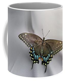 Butterfly At Picnic Coffee Mug