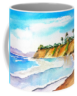 Butterfly Beach Santa Barbara Coffee Mug