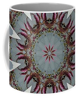 Butterfly Bush Kaleidoscope Coffee Mug
