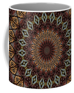 Butterfly Bush Mandala Coffee Mug