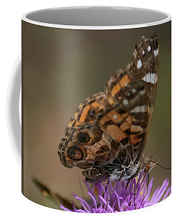 Coffee Mug featuring the photograph Butterfly by Cathy Harper