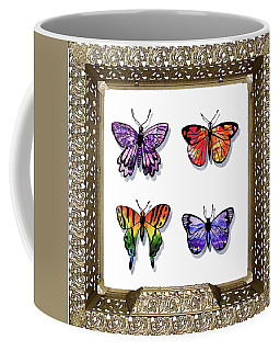 Butterfly Collection Iv Framed Coffee Mug