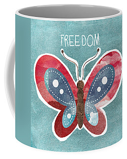 Butterfly Freedom Coffee Mug