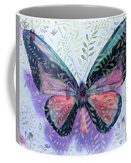 Butterfly Garden Fantasy Coffee Mug
