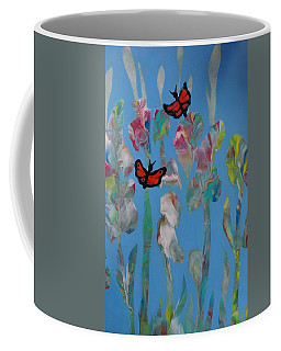 Butterfly Glads Coffee Mug