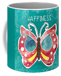 Butterfly Happiness Coffee Mug