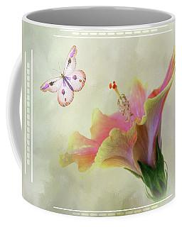 Butterfly Hibiscus Art II Coffee Mug