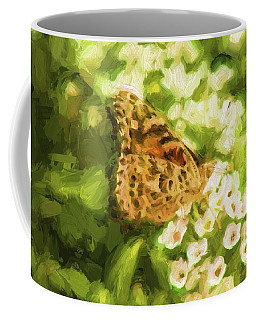 Butterfly In Broad Stroke Coffee Mug