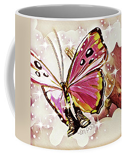 Butterfly In Combat Boots Coffee Mug