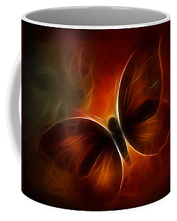 Butterfly Kisses Coffee Mug by Holly Ethan