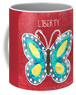 Butterfly Liberty Coffee Mug