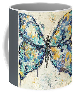 Butterfly Love Coffee Mug by Kirsten Reed