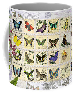 Butterfly Maps Coffee Mug