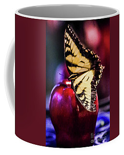 Butterfly On Apple Coffee Mug