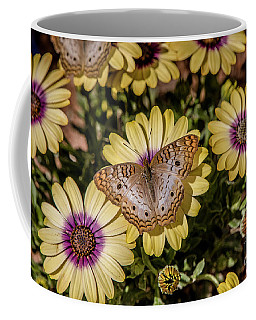 Butterfly On Blossoms Coffee Mug