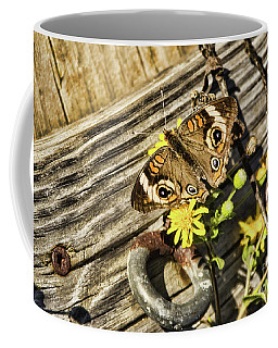Butterfly On Dock Coffee Mug