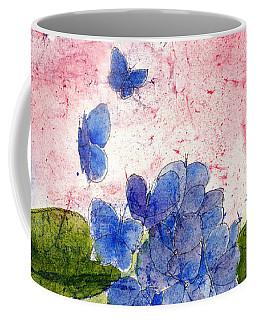 Butterflies Or Hydrangea Flower, You Decide Coffee Mug