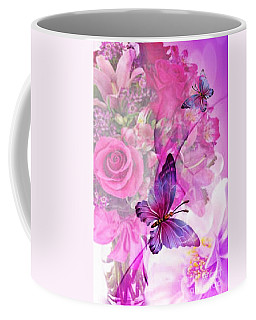 Butterfly Paradise Coffee Mug by Maria Urso
