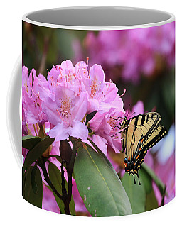 Coffee Mug featuring the photograph Butterfly Paradise by Rick Morgan