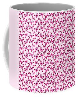 Butterfly Pattern In Pink Coffee Mug