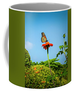 Butterfly Perch Coffee Mug
