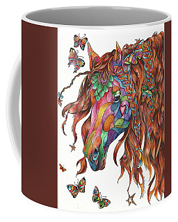 Butterfly Pony Coffee Mug