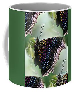 Butterfly Sunbath #2 Coffee Mug
